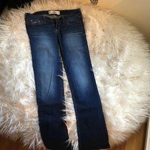 Dark wash bootleg jeans